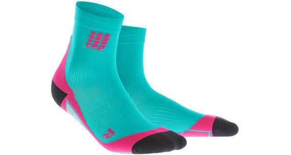 cep Dynamic+ Hardloopsokken Dames roze/turquoise